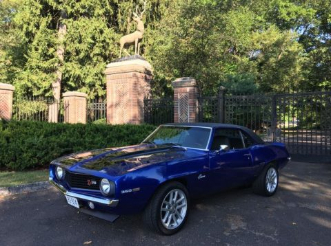 resto mod 1969 Chevrolet Camaro Z28 custom for sale