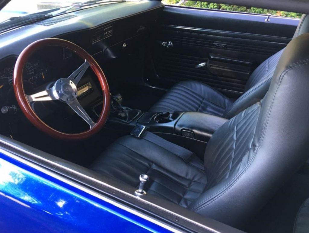resto mod 1969 Chevrolet Camaro Z28 custom