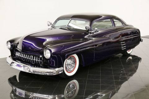 Chopped 1949 Mercury Deluxe Eight Coupe Custom for sale