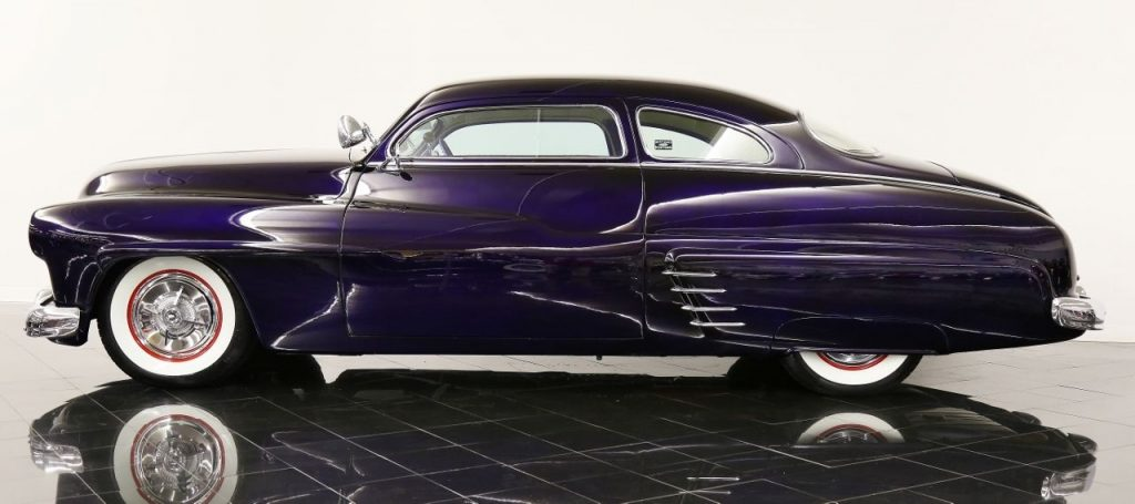 Chopped 1949 Mercury Deluxe Eight Coupe Custom