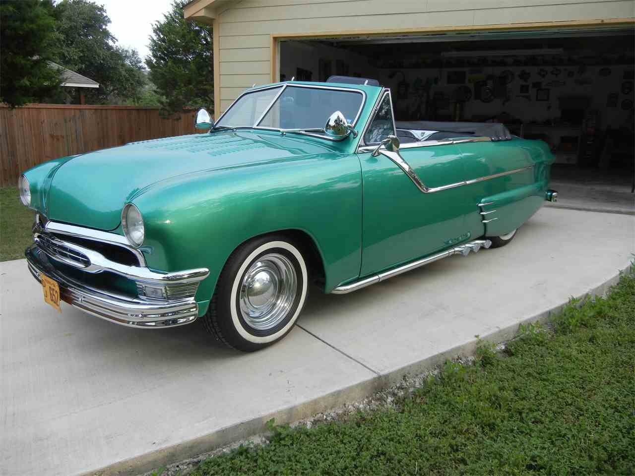 Customized 1951 Ford Convertible For Sale