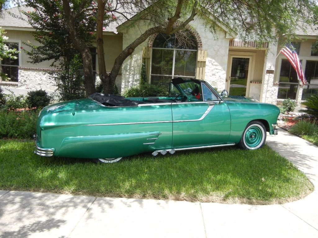Customized 1951 Ford Convertible