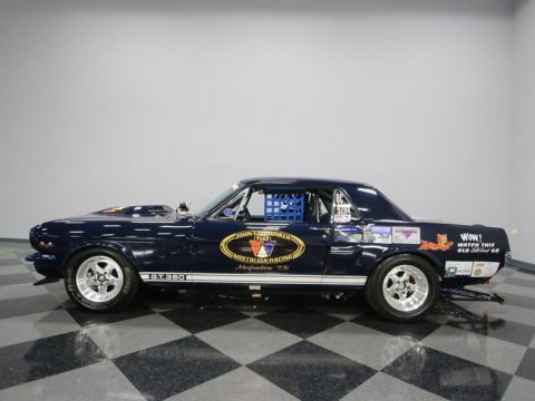 drag racer 1966 Ford Mustang custom for sale