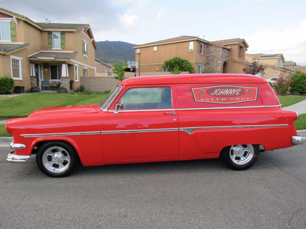 frame off 1954 Ford Courier Sedan delivery custom