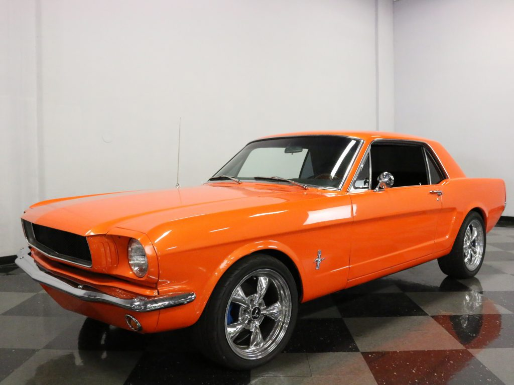 modified 1966 Ford Mustang custom