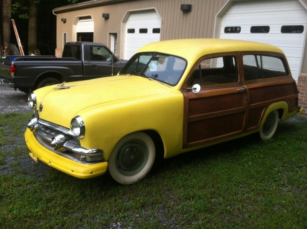 never completed resto 1951 Ford custom wagon