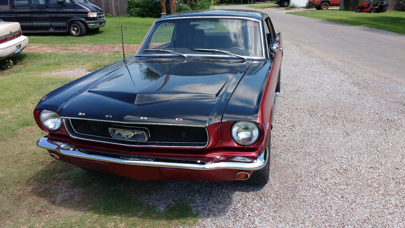 new paint 1965 ford mustang custom for sale
