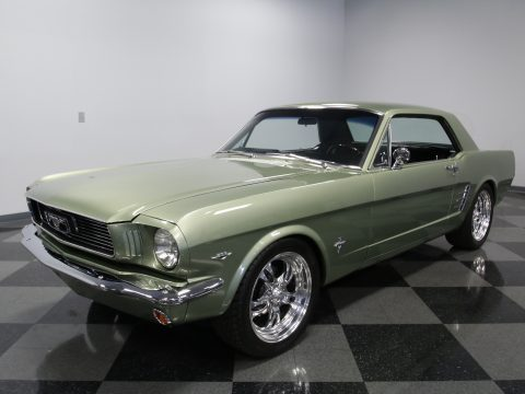 sharp 1966 Ford Mustang custom for sale