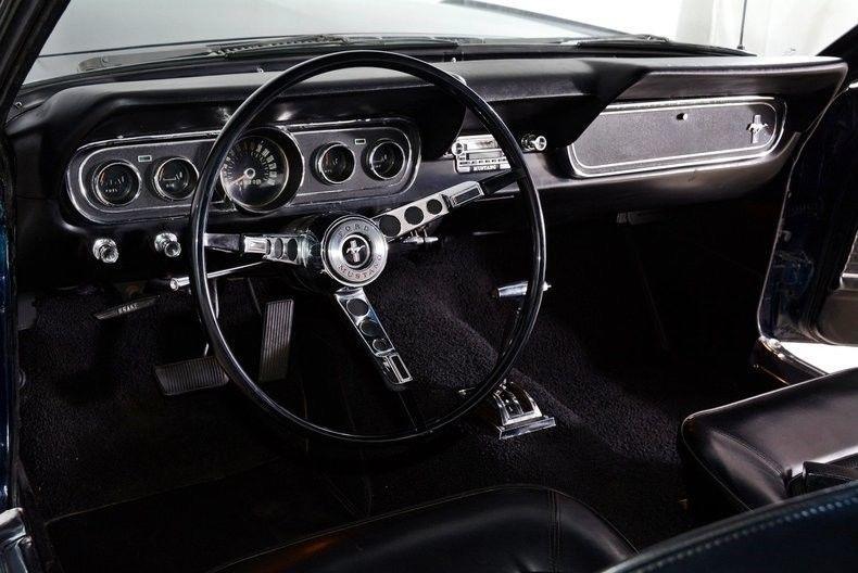 stylish 1966 Ford Mustang custom