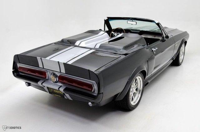 badass 1967 Ford Mustang Gt500e Super Snake Convertible custom