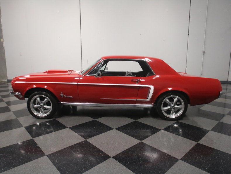clean 1968 Ford Mustang custom