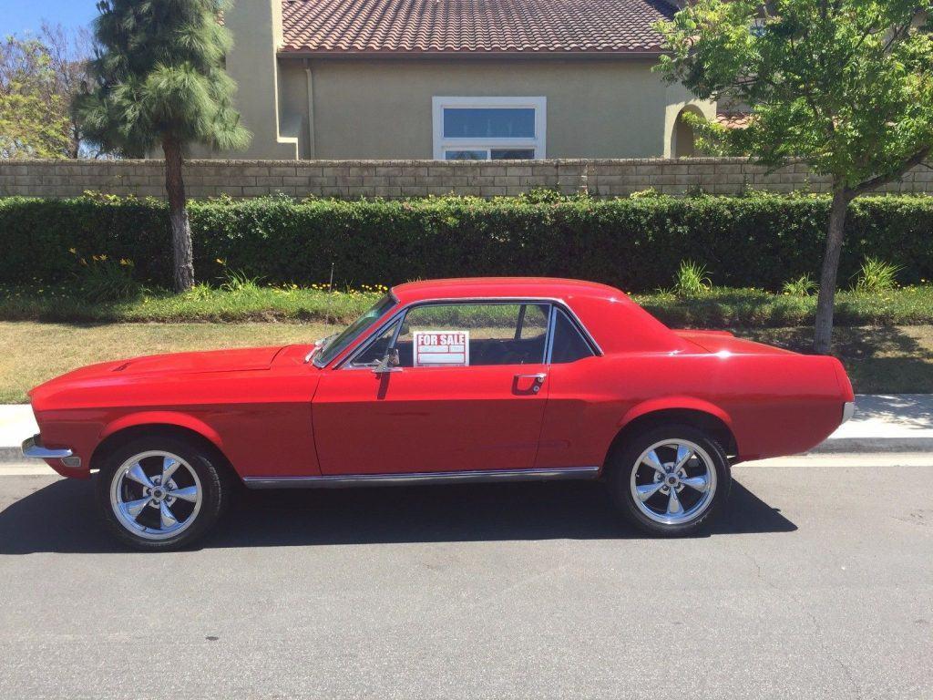 custom paint 1968 Ford Mustang 351 custom