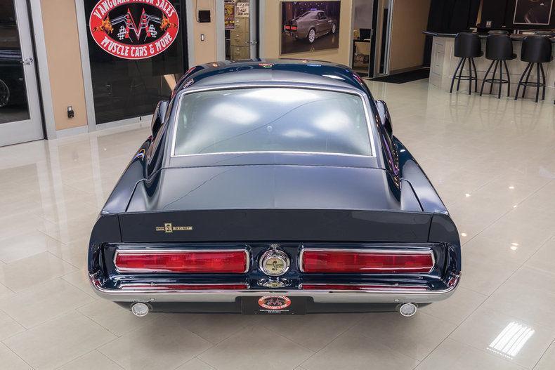 frame off resto 1967 Ford Mustang custom