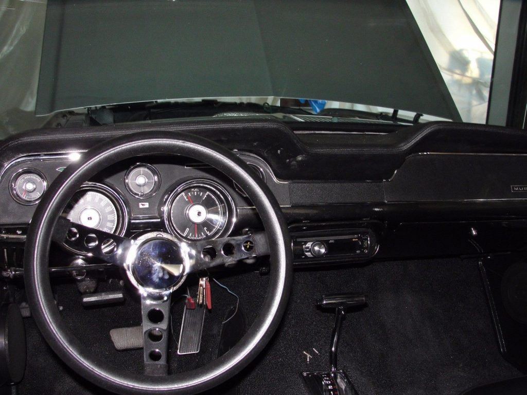 restored 1968 Ford Mustang GT Coupe custom