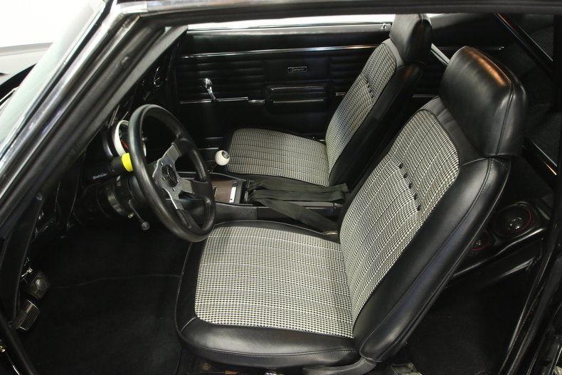 custom built engine 1968 Chevrolet Camaro custom