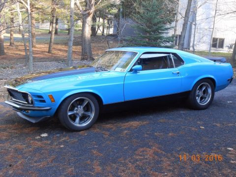 modified 1970 Ford Mustang Mach 1 custom for sale