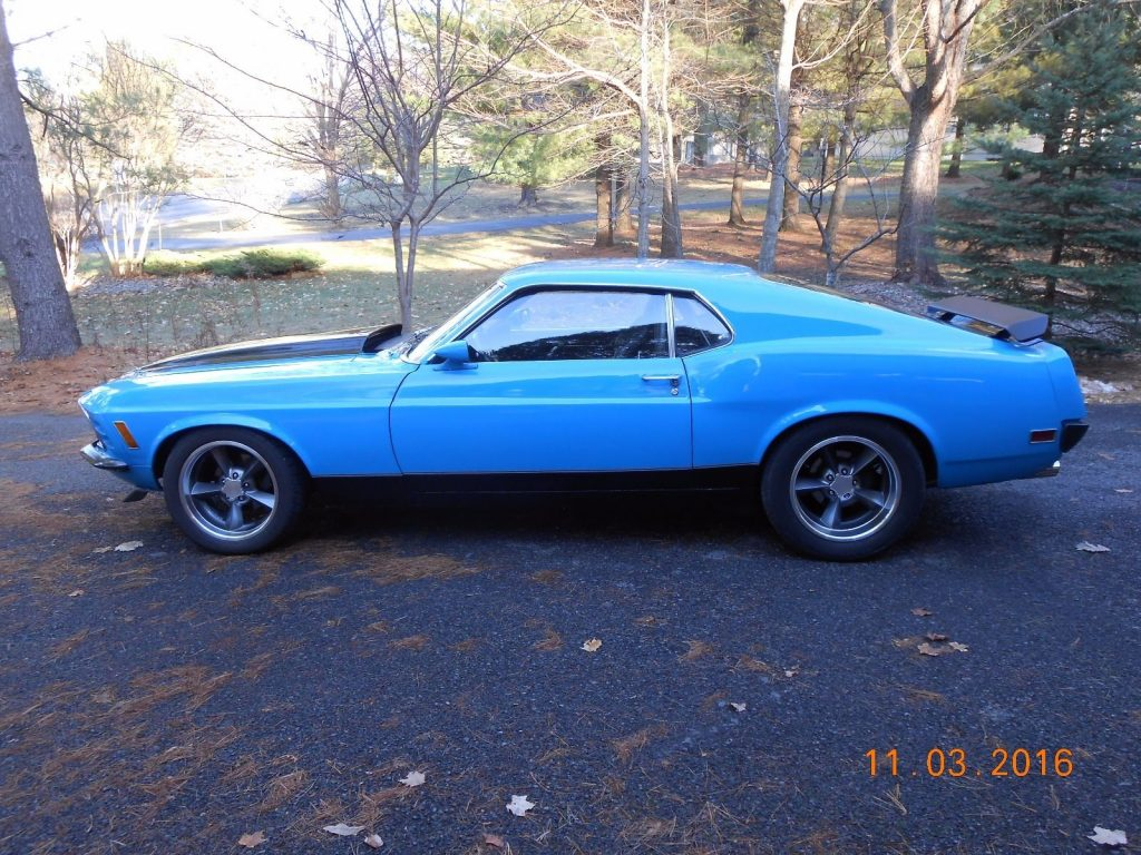 modified 1970 Ford Mustang Mach 1 custom