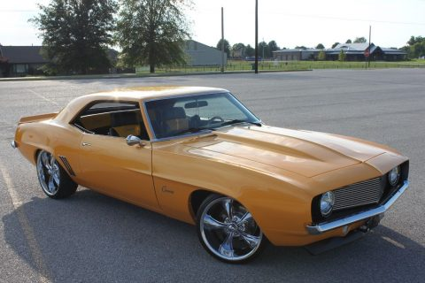 powerful 1969 Chevrolet Camaro x 11 custom for sale