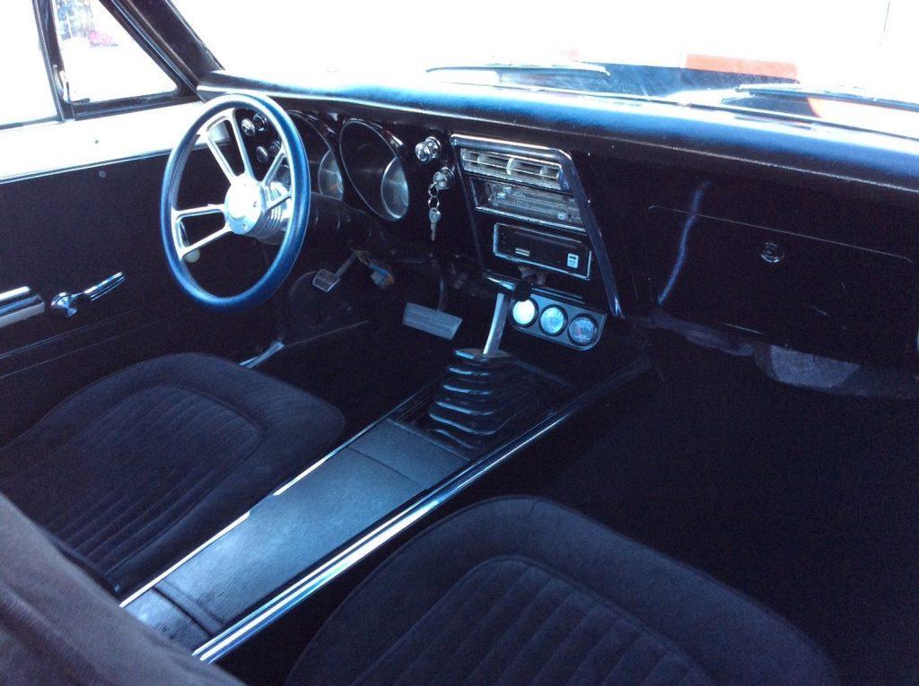 resto-mod 1967 Chevrolet Camaro Coupe custom