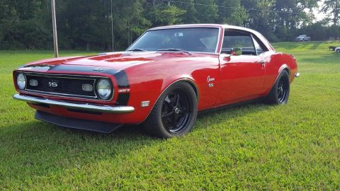 restomod 1968 Chevrolet Camaro SS custom for sale