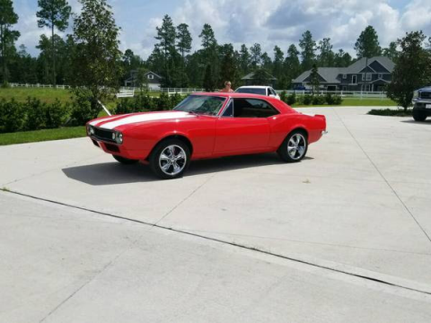 restored 1967 Chevrolet Camaro coupe custom for sale