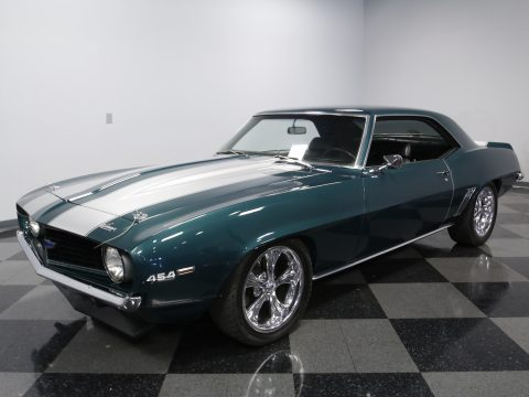 cool wheels 1969 Chevrolet Camaro Coupe custom for sale