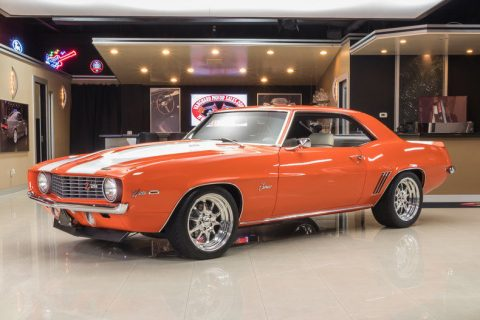 fuel injected 1969 Chevrolet Camaro Pro Touring custom for sale