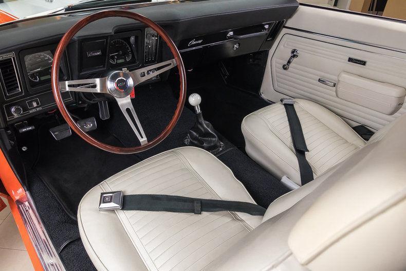 fuel injected 1969 Chevrolet Camaro Pro Touring custom