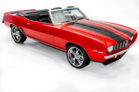 garage queen 1969 Chevrolet Camaro Convertible 396 4 Speed custom for sale