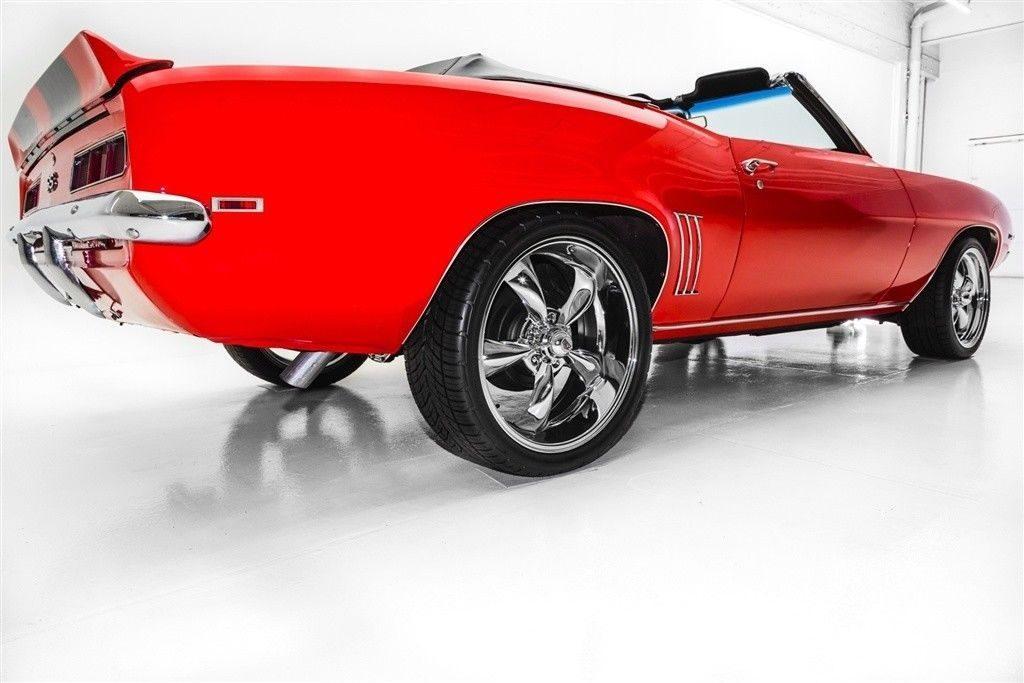 garage queen 1969 Chevrolet Camaro Convertible 396 4 Speed custom