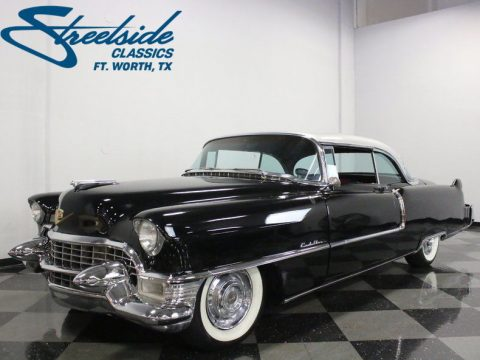 Resto mod 1955 Cadillac Series 62 Coupe custom new engine for sale