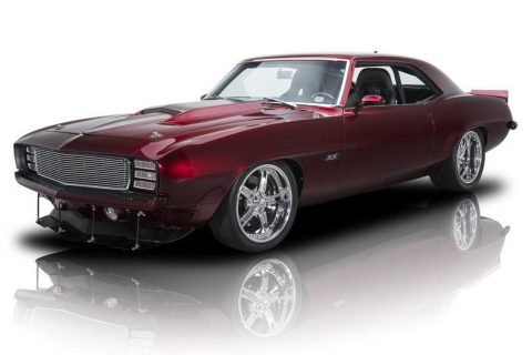 restored 1969 Chevrolet Camaro custom for sale