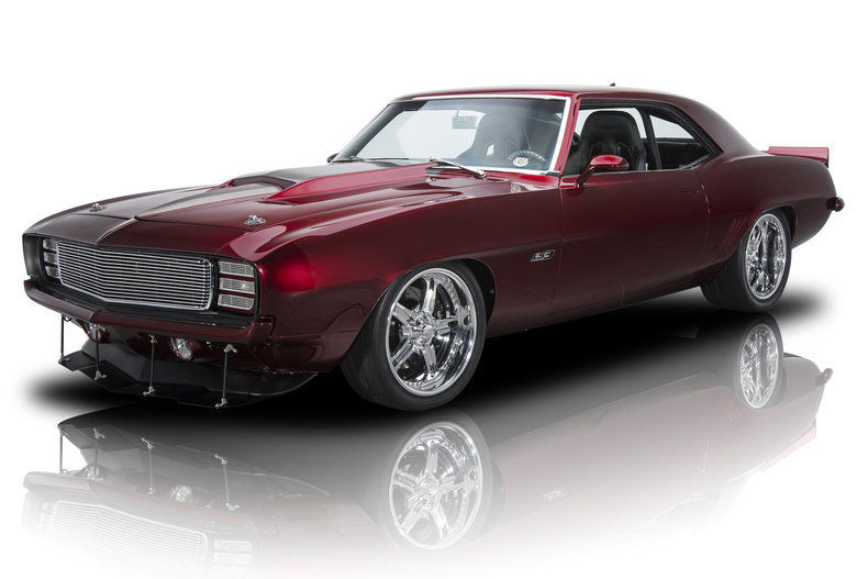 restored 1969 Chevrolet Camaro custom