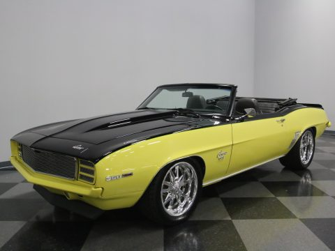 383 stroker 1969 Chevrolet Camaro Convertible custom for sale