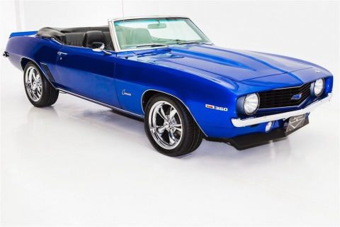 5 Speed 1969 Chevrolet Camaro Convertible ZZ4 custom for sale