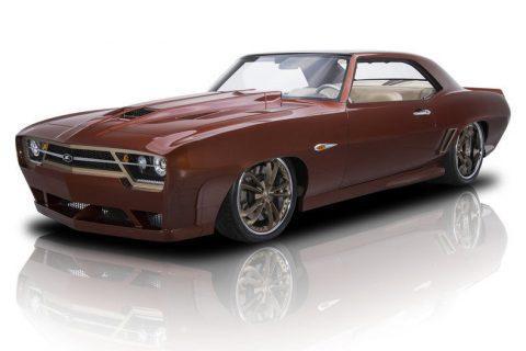 breathtaking 1969 Chevrolet Camaro custom for sale