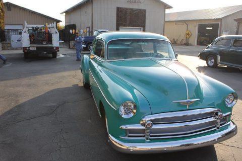 all power 1950 Chevrolet Fleetline custom for sale