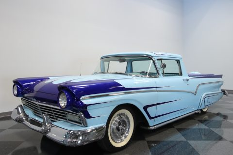 cruising classic 1957 Ford Ranchero custom for sale