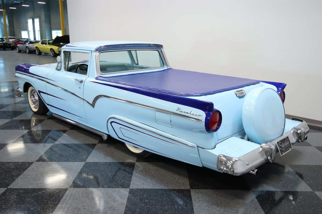 cruising classic 1957 Ford Ranchero custom
