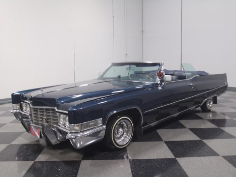 low & slow 1969 Cadillac Coupe DeVille Convertible custom for sale
