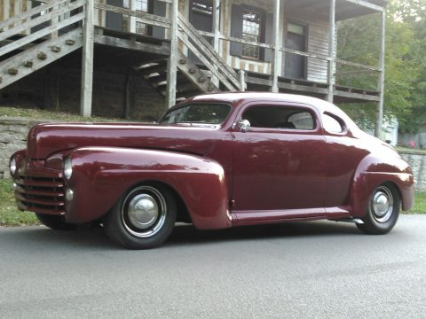 many mods 1947 Mercury custom coupe for sale