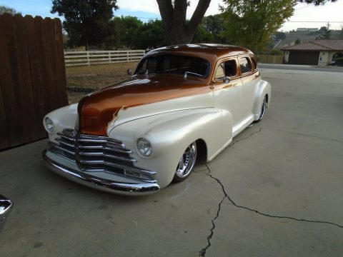 professionally built 1948 Chevrolet Fleetline Custom for sale