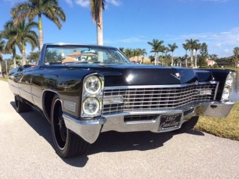 restomod 1967 Cadillac Deville convertible custom for sale