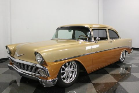Absolutely Stunning Build 1956 Chevrolet Bel Air/150/210 Resto Mod custom for sale