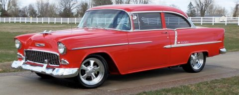 big block 1955 Chevrolet Bel Air/150/210 custom for sale