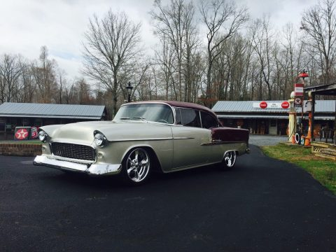 big block 1955 Chevrolet Bel Air/150/210 Leather custom for sale