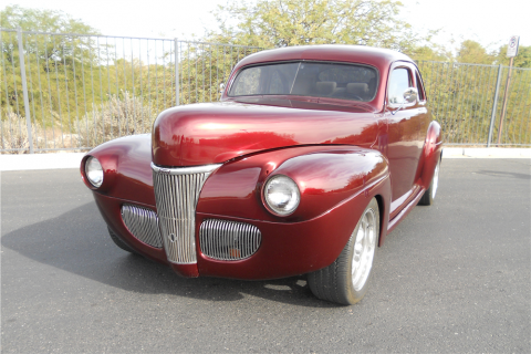 chopped 1941 Ford Deluxe custom for sale