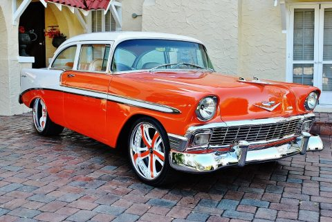 completely restored 1956 Chevrolet Bel Air/150/210 custom for sale