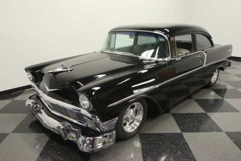 laser straight 1956 Chevrolet 210 Del Ray custom for sale