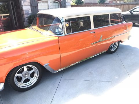 sharp restomod 1955 Chevrolet Bel Air/150/210 custom for sale